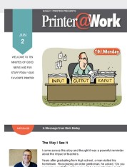 Printer@Work newsletter: Bailey Printing is Open
